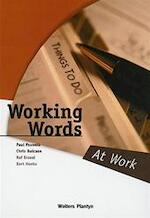 Working Words - Paul Pauwels, Amp, Chris Bulcaen, Amp, Raf [e.a.] Erzeel (ISBN 9789030183372)