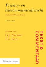 Tekst & Commentaar Privacy- en telecommunicatierecht (ISBN 9789013143096)