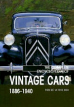 The Complete Encyclopedia of Vintage Cars