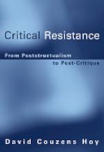 Critical Resistance - David Couzens Hoy (ISBN 9780262083300)