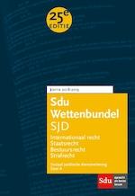 Sdu Wettenbundel Sociaal Juridische Dienstverlening 2018-2019 (ISBN 9789012402811)