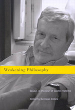 Weakening Philosophy - Santiago Zabala (ISBN 9780773577145)