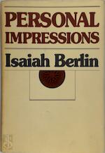 Personal Impressions - Isaiah Berlin