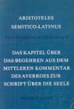 Aristoteles semitico-latinus