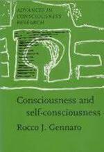 Consciousness and self-consciousness