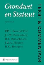Tekst & Commentaar Grondwet en Statuut - P.P.T. Bovend'Eert (ISBN 9789013148381)
