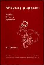 Wayang puppets - Mellema (ISBN 9789068320268)