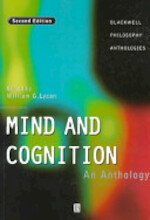 Mind and Cognition - William Lycan (ISBN 9780631205456)