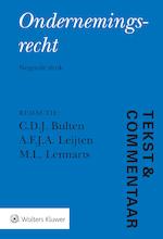 Tekst & Commentaar Ondernemingsrecht (ISBN 9789013147261)