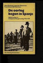 De oorlog begon in Spanje