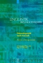Diskurslinguistik nach Foucault - Unknown (ISBN 9783110192995)