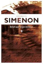 Brief aan mijn rechter - Georges Simenon (ISBN 9789460423512)