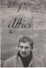 Hugo Claus, Parijs 1953 - portretfoto door Ed van der Elsken - VAN DER ELSKEN, Ed