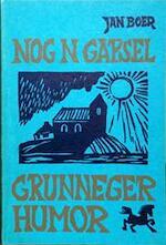 Nog n gapsel grunneger humor - Boer (ISBN 9789060620113)