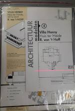 Villa Henny - huis ter Heide - R. van 't Hoff / Architectuur modellen 4 [bouwplaat]