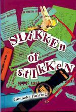 Slikken of stikken - Gonneke Huizing (ISBN 9789025111373)