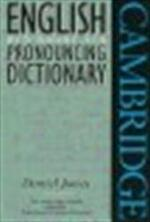 English pronouncing dictionary - Daniel Jones, Peter Roach, James Hartman (ISBN 9780521459037)