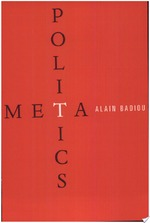 Metapolitics - Alain Badiou (ISBN 9781844670352)