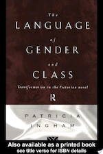 The Language of Gender and Class - Patricia Ingham (ISBN 9780415082228)
