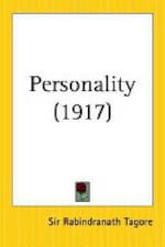 Personality - Sir Rabindranath Tagore (ISBN 9780766182868)