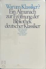 Warum Klassiker? - Gottfried Honnefelder (ISBN 3618600003)
