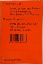 Shopping in Jail - Douglas Coupland (ISBN 9783943365863)