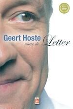 Geert Hoste naar de Letter - Geert Hoste (ISBN 9789460012112)
