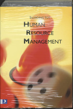 Inleiding tot Human Resource Management + Cases (2delen) - L. Maund (ISBN 9789039518830)