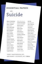 Essential papers on suicide - John T. Maltsberger, Mark J. Goldblatt (ISBN 9780814755501)