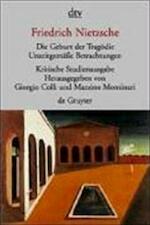 Die Geburt der Tragödie - Friedrich Nietzsche (ISBN 9783423301510)