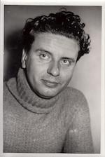 Hubert Lampo - persfoto ca. 1954 - VAN CAUWENBERGH, Louis