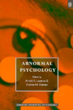 Abnormal Psychology - Arnold A. Lazarus, Andrew M. Colman (ISBN 9780582278073)