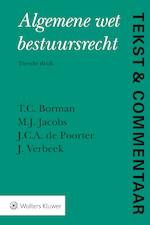 Tekst & Commentaar Algemene wet bestuursrecht - T.C. Borman (ISBN 9789013142693)
