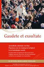 Gaudete et exsultate - Paus Franciscus (ISBN 9789492093844)
