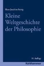 Kleine Weltgeschichte der Philosophie - Hans Joachim Störig (ISBN 9783170314597)
