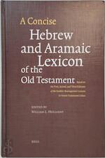 Concise Hebrew and Aramaic lexicon of the Old Testament - William L. Holladay (ISBN 9789004026131)