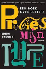 Precies mijn type - Simon Garfield (ISBN 9789057595189)