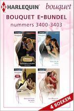 Bouquet e-bundel nummers 3400 - 3403 - Sarah Morgan (ISBN 9789461995636)