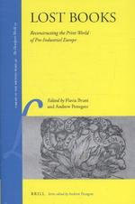 Lost Books (ISBN 9789004311817)