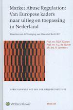 Preadvies MAR - F.G.H. Kristen, H.J. de Kluiver, N. Lemmens (ISBN 9789013141818)