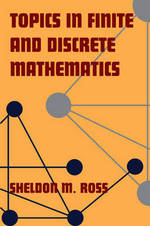 Topics in finite and discrete mathematics - Sheldon M. Ross (ISBN 9780521775717)