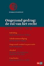 Ongezond gedrag: de rol van het recht - B.C.A. Toebes (ISBN 9789012404105)