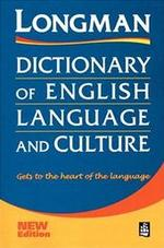 Longman Dictionary of English Language and Culture - Unknown (ISBN 9780582302037)