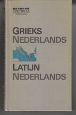 Spectrum woordenboek Grieks - Nederlands / Latijn - Nederlands
