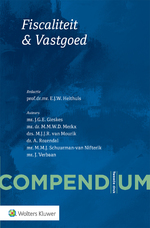 Compendium Fiscaliteit & Vastgoed - E.J.W. Heithuis (ISBN 9789013148695)