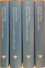 Werken in vier delen - Jorge Luis Borges, Barber van de Pol, Mariolein Sabarte Belacortu, Robert Lemm (ISBN 9789023461982)