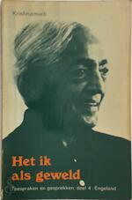 Het ik als geweld - J. Krishnamurti (ISBN 9789020248647)
