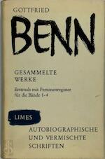 Autobiografische und vermischte Schriften - Gottfried Benn (ISBN 3809020621)