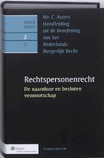 Mr. C. Asser's handleiding tot de beoefening van het Nederlands burgerlijk recht / Rechtspersonenrecht (ISBN 9789013078015)