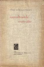 Onvoltooide executie